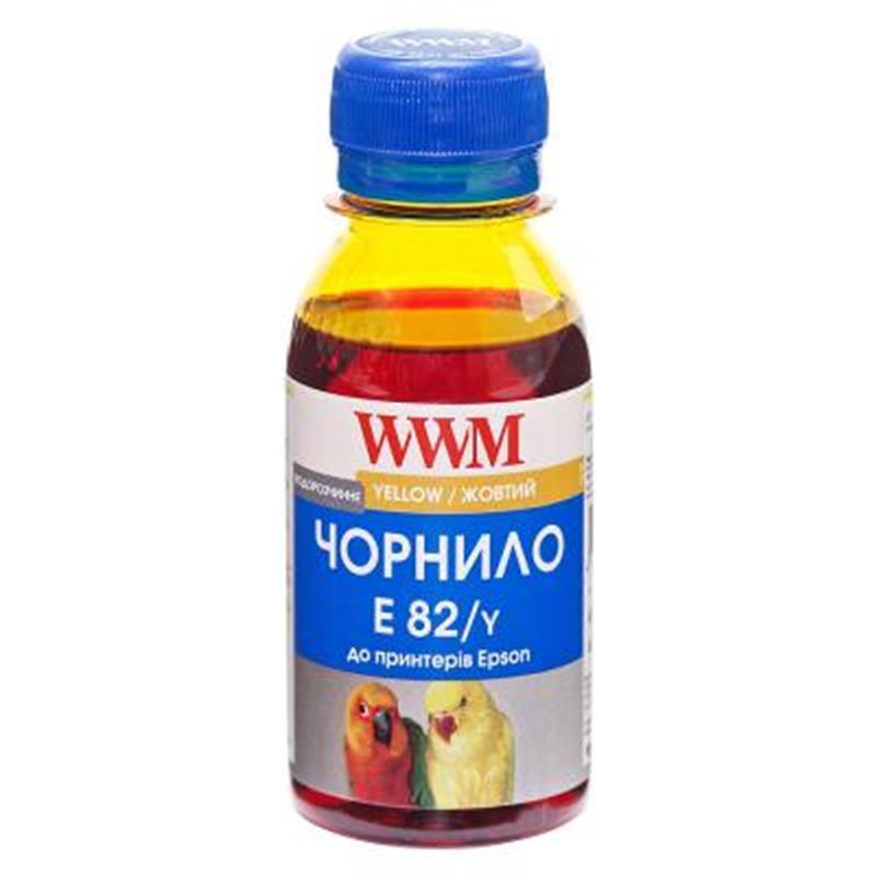 Чернила WWM Epson Stylus Photo T50/P50/PX660 (Yellow) (E82/Y-2) 100г