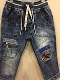 Детские красивые джинсы на резинке на мальчика 2,4 г, фото 2