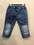 Детские красивые джинсы на резинке на мальчика 2,4 г, фото 3