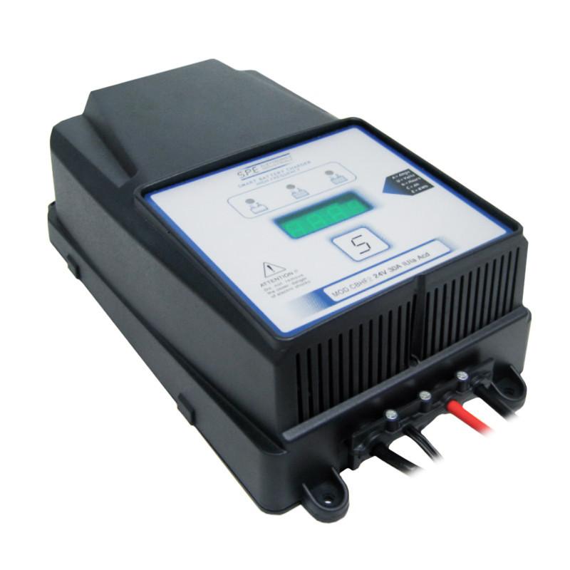 Зарядное для гелевых аккумуляторов S.P.E Elettronica Industriale CBHF2 25A