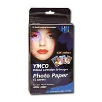HiTi (Hi-Ti) фотобумага с картриджем для принтеров 600-й серии (50 шт.)