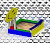 Песочница «Смайлик тип 2»
