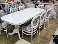 Стол обеденный раскладной  Полонез olb, цвет на выбор, фото 2