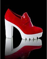 Туфли на белой подошве, фото 1