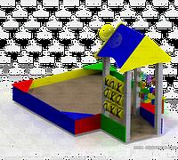 Песочница «Теремок тип 2», фото 1
