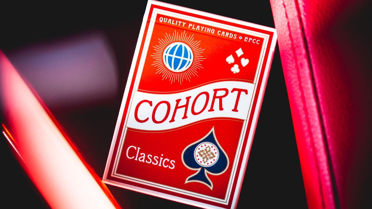 Карты игральные | Cohort Red by Ellusionist