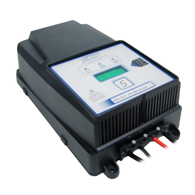 Зарядное для гелевых аккумуляторов S.P.E Elettronica Industriale CBHF2 30A