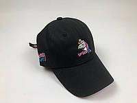 Кепка бейсболка Unicorn Единорог (Черная)