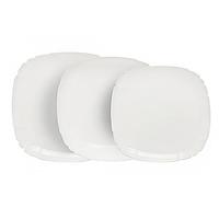 Столовый сервиз Luminarc Lotusia White на 6 персон 18 предметов Белый LUM-H3527psg, КОД: 171253