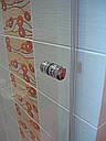 Стеклянная душевая дверь 600*1800 серая, фото 6