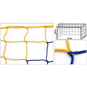 Сетка для футбольных ворот PlayGame 7500 мм (пара), код: SO-5297