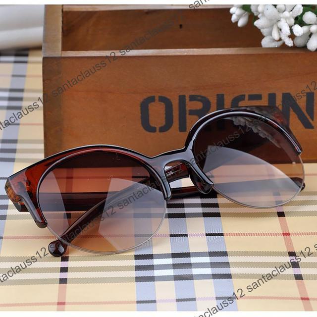 Модные женские солнцезащитные Очки Semi-Rimless от Vans ретро винтаж сонцезахисні  окуляри - Naza Shop 7127a0507d4da