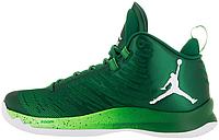 Баскетбольные кроссовки Jordan Super Fly 5 (Найк Аир Джордан 5) зеленые