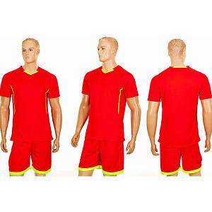 Комплект футбольной формы PlayGame Grapple Junior (22 комплекта), код: CO-7055B-OR