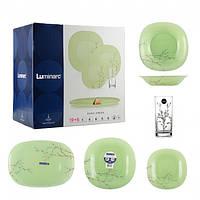Сервиз Luminarc Carine Нanа Green 19+6 предметов на 6 персон