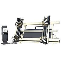 Автоматический гидравлический четырёхголовый пресс для алюминиевых углов OZCELIK APEX-IV