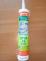 Силикон санитарный прозрачный PenoTEK 280 мл Санитарный силиконовый герметик, фото 1