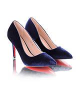 Синие туфли-лодочки, фото 1