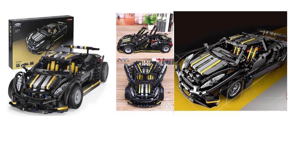 "Конструктор, аналог лего Техник, - Гоночный спорт кар""Balisong Small Super car""на 1177деталей,XB-07002"