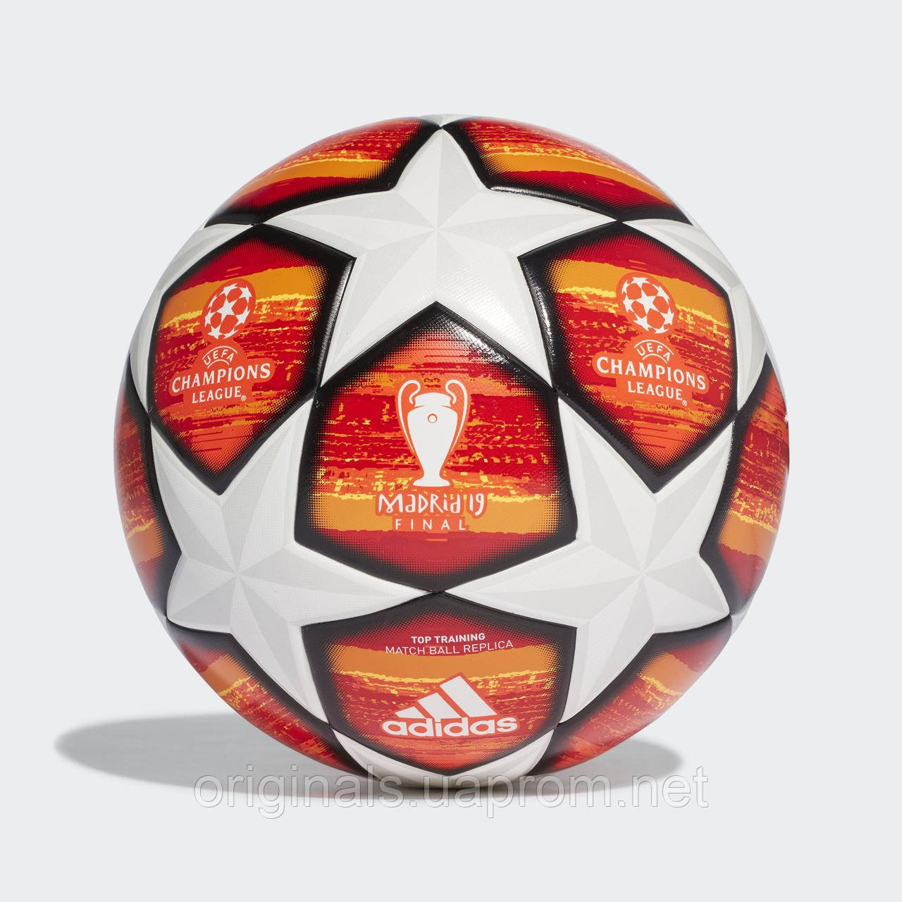 Футбольный мяч Adidas UCL Finale Madrid Top Training DN8676