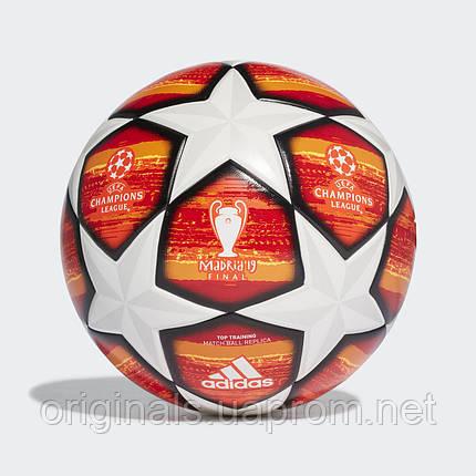 Футбольный мяч Adidas UCL Finale Madrid Top Training DN8676  , фото 2
