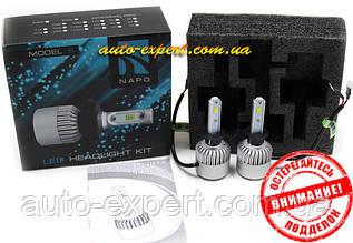 Автомобильные светодиодные лампы «Napo» LED G9 (H1)(6000K)(8000lm)(36W)(12-24V)