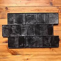 """Резиновый штамп """"Брусчатка"""" для напольной печати по бетону 600*370*10-15 мм, фото 1"""