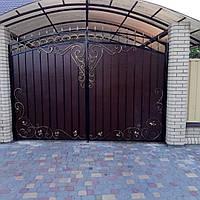 Ворота калитки  кованые