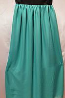 Стильная юбка шифон с подъюбником ярких цветов