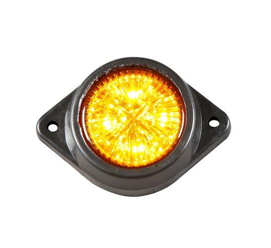 Габаритный фонарь светодиодный 12-24V желтый/L0036/2107 - Магазин запчастей для грузовиков и прицепов Truckmarket в Киеве