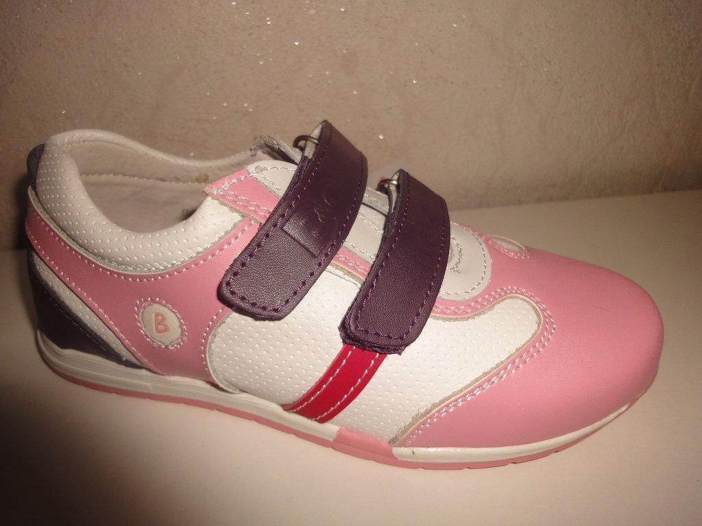 4a098d08 Кожаные кроссовки B&G 27,30 р. на девочку - Магазин детской и подростковой  обуви