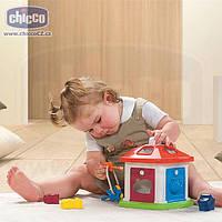 Розвиваюча іграшка-сортер Будиночок c ключами Тваринна ферма Chicco 64273
