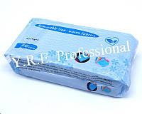 Салфетки косметологические в пакете 20,5х18,5см 80шт