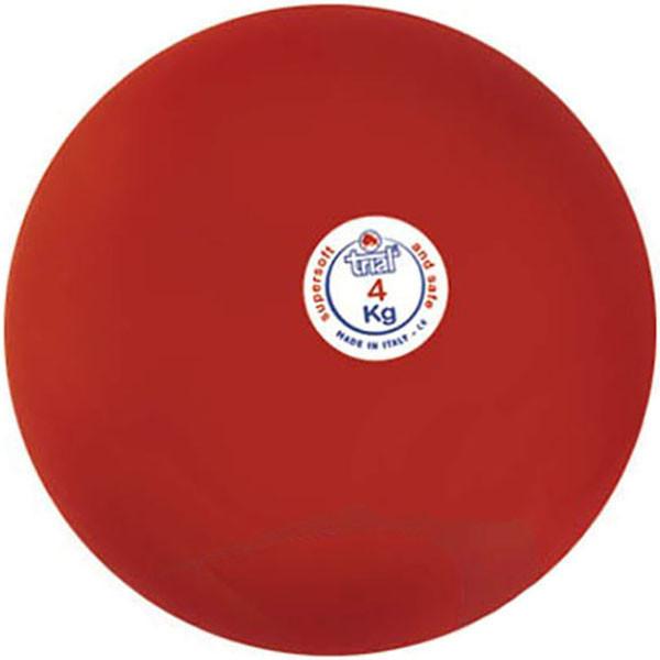Мяч тренировочный Polanik Trial Super Soft 4 кг, код: VDL40