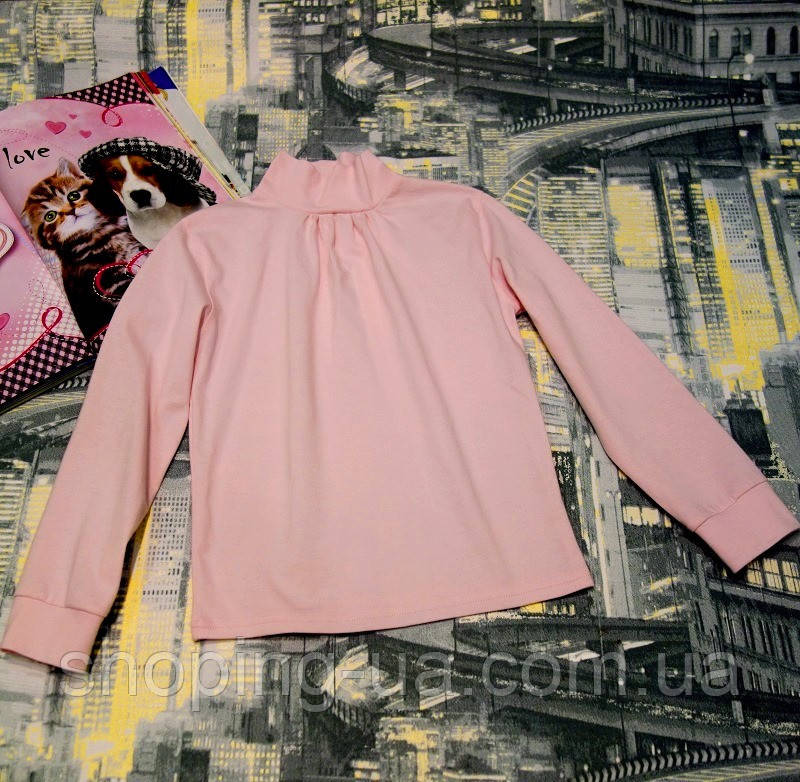 Водолазка-гольф розовая для девочки Five Stars KD0169-122p