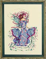 Схема для вышивки October Opal Fairy Mirabilia Designs