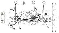 Проводка тормозной системы