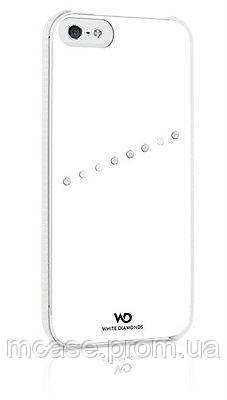 Чехол для iPhone 5\5s White Diamonds Sash Matte БЕЛЫЙ