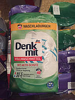 Стиральный порошок Denk Mit 2,7кг, для белого белья(Германия)
