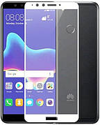 Защитное стекло Full Cover Huawei Y9 2018 White