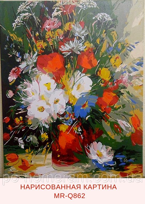 Рисование по номерам Mariposa Летний букет отзывы и фото