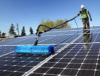 Техническое обслуживание СЭС: мойка солнечных батарей, фото 1