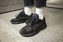 "Мужские кроссовки Adidas Yung-1  "" Triple Black "" ( Реплика ), фото 2"