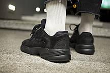"Мужские кроссовки Adidas Yung-1  "" Triple Black "" ( Реплика ), фото 3"