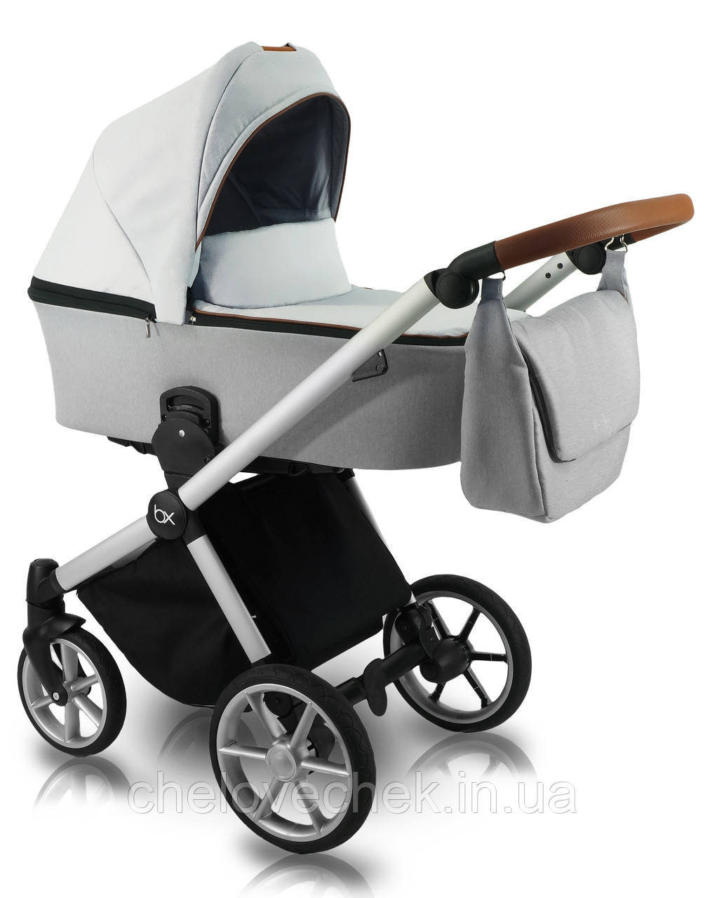 Детская коляска универсальная 2 в 1 Bexa Ultra Style X USX-2 (Бекса, Польша)