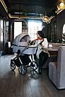 Детская коляска универсальная 2 в 1 Bexa Ultra Style X USX-2 (Бекса, Польша), фото 8