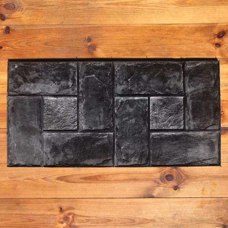 """Резиновый штамп """"Переплёт"""" для напольной печати по бетону 800*400*10-15 мм"""