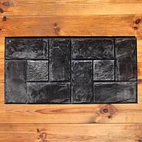 """Резиновый штамп """"Переплёт"""" для напольной печати по бетону 800*400*10-15 мм, фото 1"""