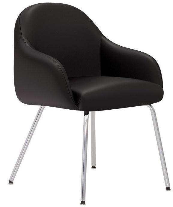 Кресло для ожидания WAIT 4L chrome