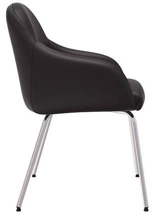 Кресло для ожидания WAIT 4L chrome, фото 2